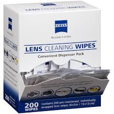 <b>Zeiss Pre-Moistened Lens Cleaning</b> Wipes (200 ct.) - Walmart.com