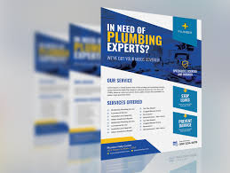 Designers Plumbing And Hardware Plumber Service Flyer By Ar Xihad On Dribbble
