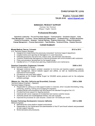 Stunning Sales Support Manager Resume Photos Entry Level Resume