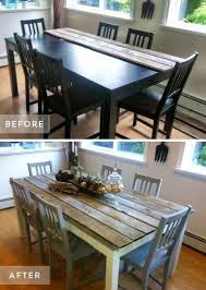 dining table and chairs makeover 40 awesome makeovers clever ways with tutorials to repurpose old furniture