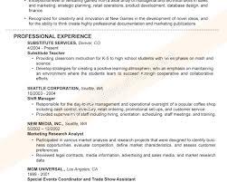 Sample Resume Titles Charming Coffee Shop Sales Sample Resume For Good Resume