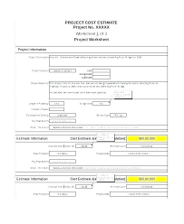 Web Design Estimate Template Website Cost Price Quote Sheet