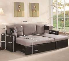 l shape corner sofa with pull out sofa
