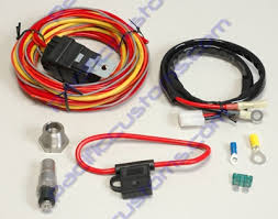 spal usa wiring harness 185 deg thermoswitch and relay