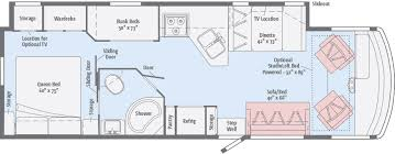 >vista floorplans winnebago rvs