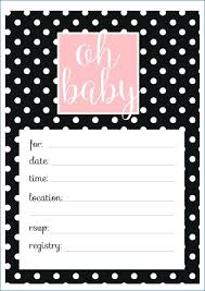 Leopard Print Invitations Templates Free Template Baby Shower