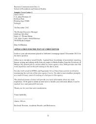 Cover Letter Jobstreet Sample
