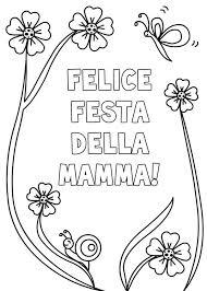 40 Disegni Per La Festa Della Mamma Da Colorare Disegni Festa