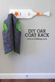 diy nautical coat rack