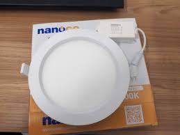 Đèn Led âm trần tròn 12W NSD126 Nanoco