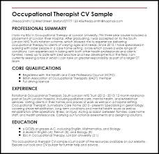 Occupational Therapy Resume Template Magnificent Art Therapist Resume Massage T Resume Sample Art Template Beauty Spa
