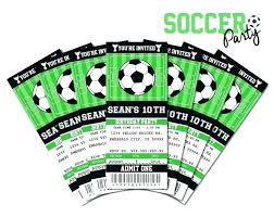 Free Football Invitation Templates Soccer Birthday Invitations Plus Invitation Party Football