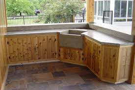 teak outdoor kitchen cabinets luxury custom cedar cabinets home is where the heart is