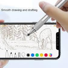 Bút cảm ứng 2 đầu 2 in 1 Baseus cho điện thoại mày tính bảng iPhone iPad  Samsung window PC - Hàng chính hãng