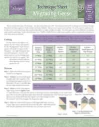 Migrating Geese Technique Sheet - Deb Tucker's Studio 180 Design & Migrating Geese Technique Sheet ... Adamdwight.com