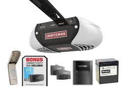 z wave garage door 2Craftsman 1 HPS Belt Drive Garage Door Opener with Gateway