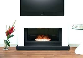 classicflame 36 in black electric fireplace insert modern stand ideas about on within