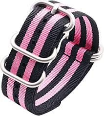 Pink - Watch Bands / Women: Watches - Amazon.ca