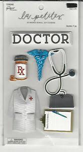 Details About La Petites Doctor 2 3d Stickers Occupation Medical Pills Chart