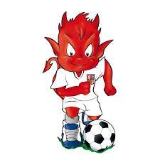 Samolepící Dekory čert Fotbalový Míč
