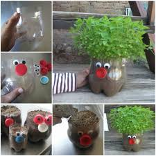 How To Make Recycled Plastic Bottle Planter