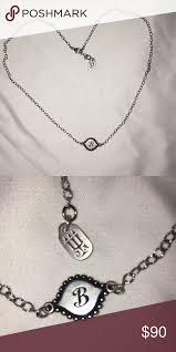 james avery initial necklace jewelry