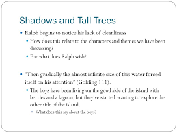 lord of the flies chapters ppt video online 3 shadows