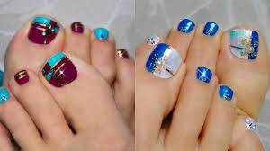 Toe Nail Colors And Designs Cute Easy Toenail Art Design Compilation Best Nail Art Design Ideas
