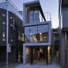 long narrow house ...