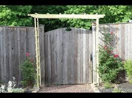 diy garden arch you
