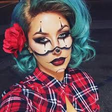 gangsta clown makeup idea for