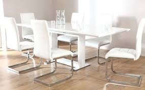 high gloss extending dining table. curva round white gloss extending dining table high