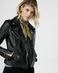 express minus the leather quilted moto jacket