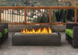 patioflame outdoor linear gas fire pit