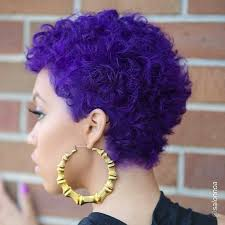 Purple Hair Style hairstyle ideas for short natural hair essence 7738 by wearticles.com