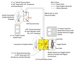 2 wire light switch diagram boulderrail org Electrical Light Wiring Diagram With Light Switch how to wire an attic electrical outlet and light brilliant 2 switch Double Light Switch Wiring Diagram