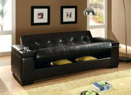 futon faux leather convertible sofa bed leather faux leather convertible sofa sleeper with storage belle faux leather convertible futon black faux leather