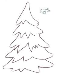 Free Christmas Tree Template Christmas Card Tree Template Modern Vector Card Template With Tree