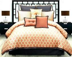 orange and grey comforter sets orange and gray bedding sets orange and grey bedding burnt orange orange and grey comforter