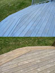 deck makeover part ii staining pressure treated wood