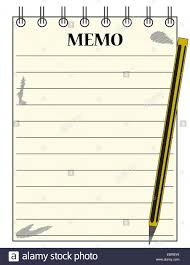 A Lined Memo Blank Notepad Template Or Background With A