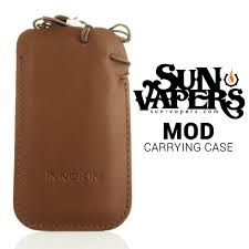leather carrying case