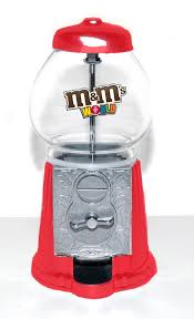 MM Candy Vending Machine Magnificent American Gumball Machine Company