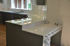 white backpainted glass countertops