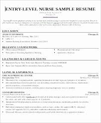 Nursing Assistant Resume Skills Enchanting Sample Resume Nursing Assistant Entry Level Luxury Entry Level Cna