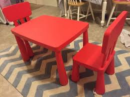 Ikea Plastic Table And Chairs