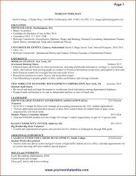 Resume Headings Resume For Study