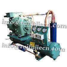 refrigerator unit. china horizontal bitzer refrigerator condenser units , 3-40hp semi-hermetic condensing unit supplier
