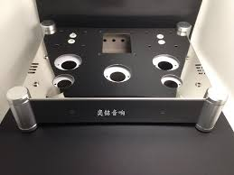 new amps stainless steel amplifier chassis amplifier case diy amplifier chassis suitable for el34 amplifier enclosure
