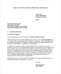 Job Reference Letter Employer Best Sample Recommendation